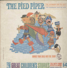 The Pied Piper Great Childrens Stories English Vinyl LP