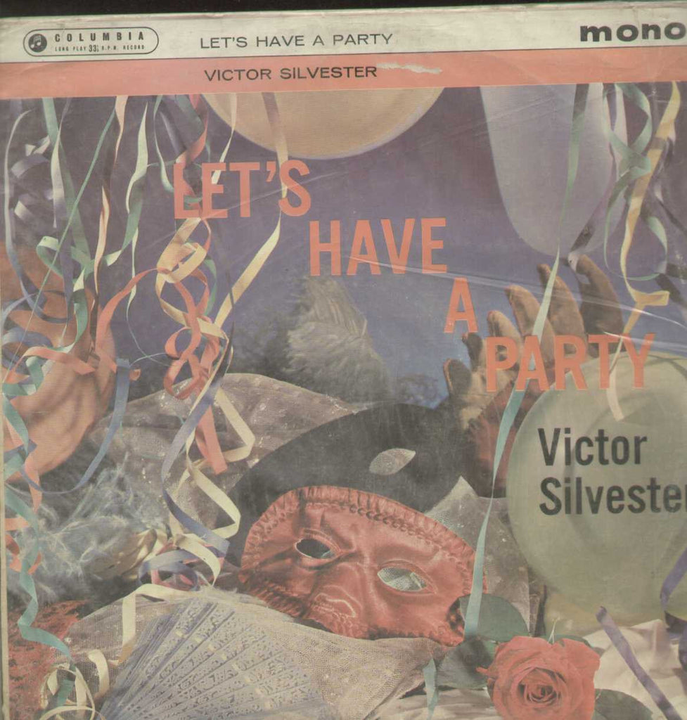 Lets Have A Party Victor Silverster English Vinyl LP