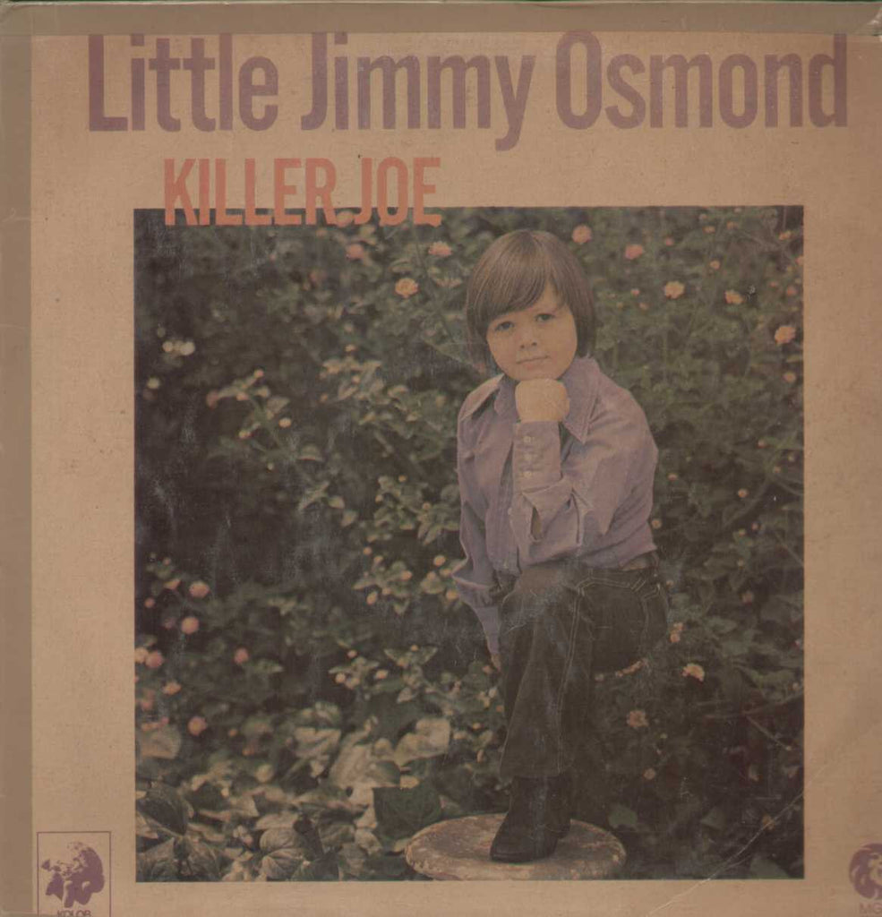 Little Jimmy Osmond Killer Joe English Vinyl LP