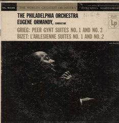 The Philadelphia Orchestra Eugene Ormandy Grieg Bizet English Vinyl LP