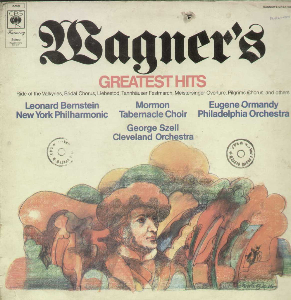 Wagner's Greatest Hits English Vinyl LP