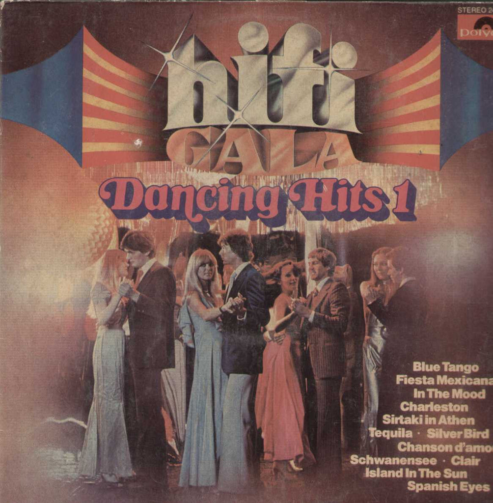 Hifi Gala Dancing Hits 1 English Vinyl LP