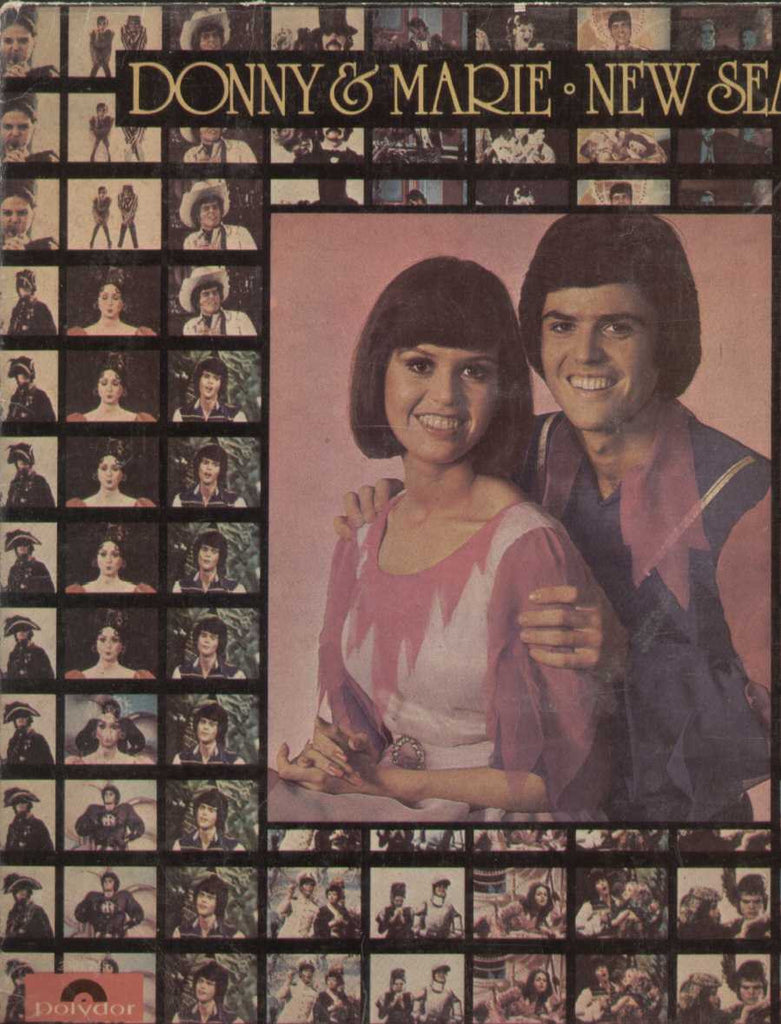 Donny And Marie New Season English Vinyl LP