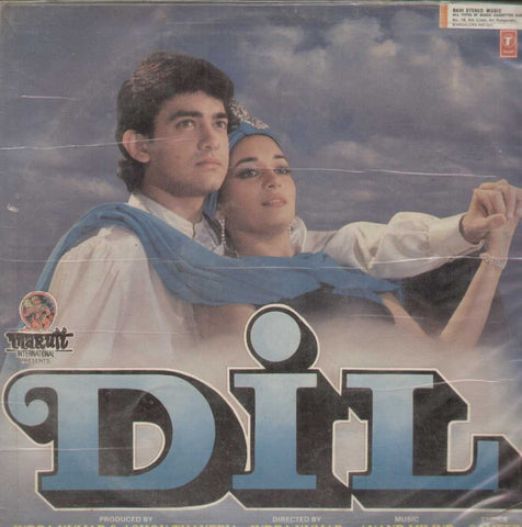 Dil 1990 Bollywood Vinyl LP