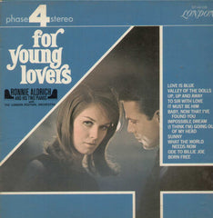 For Young Lovers Ronnie Aldrich And His Two Pianos With The London Festival Orchestra English Vinyl LP