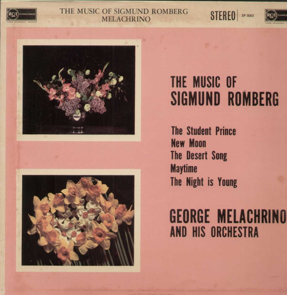 The Music Of Sigmund Romberg George Melachrino  And His Orchestra English Vinyl LP