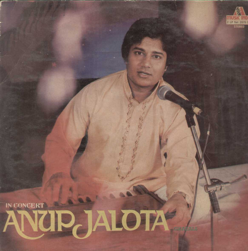 In Concert Anup Jalota Bollywood Vinyl LP