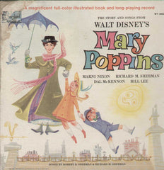 Walt disney's Mary Poppins English Vinyl LP
