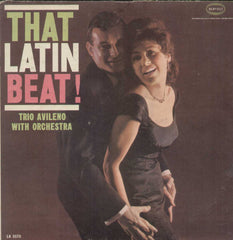 That Latin Beat Trio Avileno With Orchestra English Vinyl LP