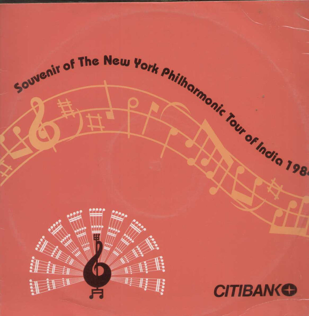 Souvenir Of The New York Philharmonic Tour Of India 1984 English Vinyl LP