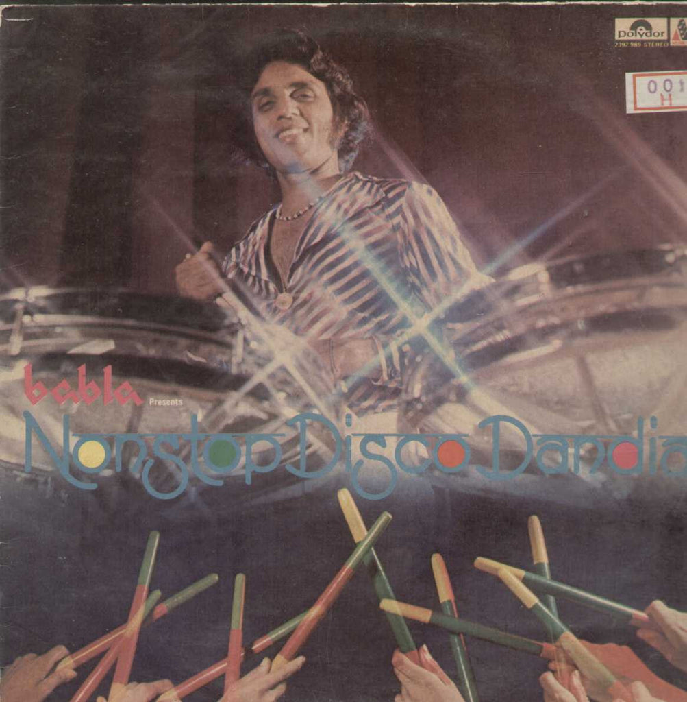Non Stop Disco Dandia Bollywood Vinyl LP