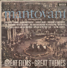 Mantovani And His Orchestra Great Films- Great Themes English Vinyl LP