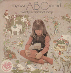 My Own ABC Record Twenty-Six Alphabet Songs English Vinyl LP