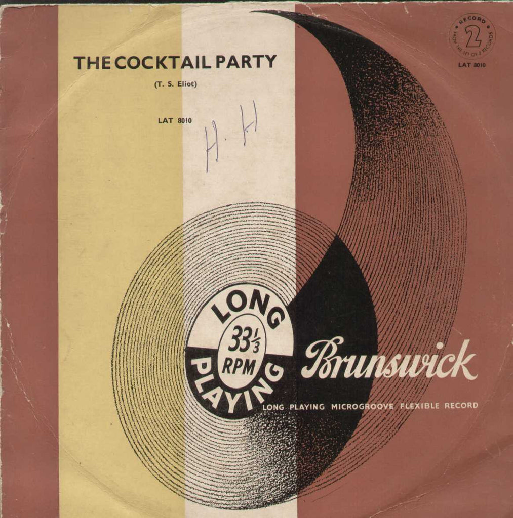 The Cocktail Party English Vinyl LP