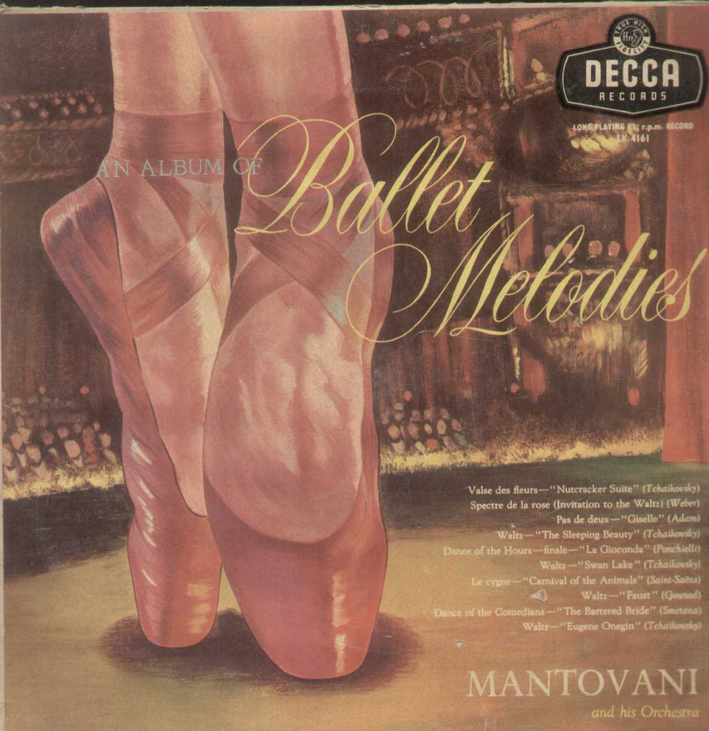 An Album Of Ballet MelodiesMantovani And His Orchestra English Vinyl LP