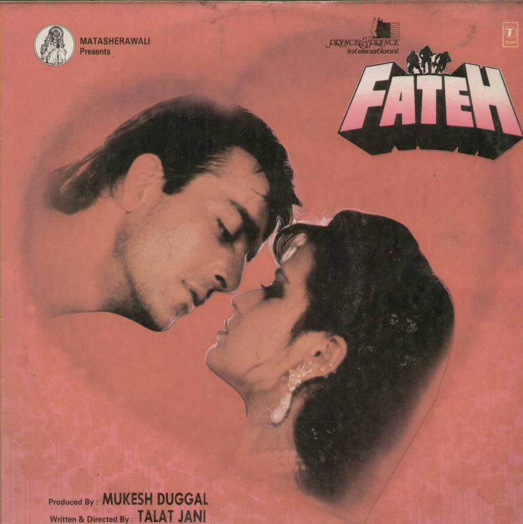 Fateh 1980 Bollywood Vinyl LP