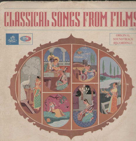 Classical Songs From Films Vol 2 Bollywood Vinyl LP