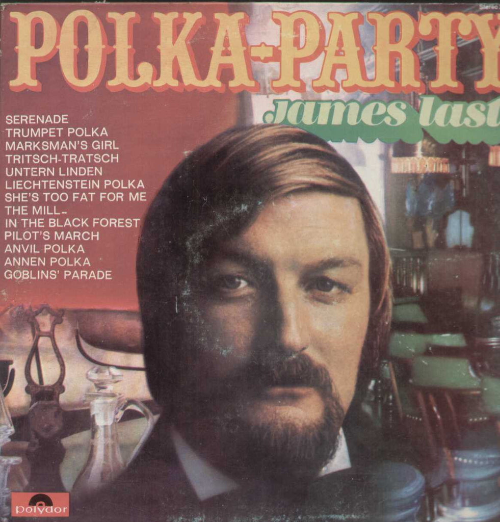 Polka- Party James Last English Vinyl LP