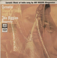 Carnatic Music Of India Sung By Jon Haggins Bhagavatar Vol 2 Bollywood Vinyl LP- First Press