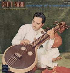 Chitti Babu Musings Af A Musician Accompanied By His Orchestra Vol 2 Bollywood Vinyl LP