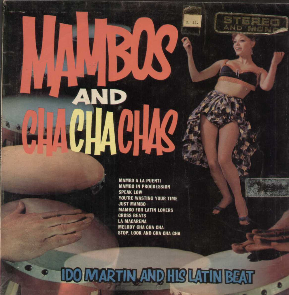 Mambos And Cha Cha Chas Ido Martin And his Latin Beat English Vinyl LP