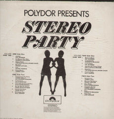 Stereo Party Vol 2 English Vinyl LP