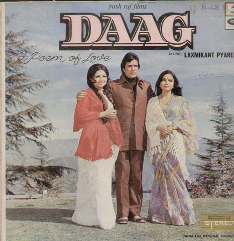 Daag 1970 Bollywood Vinyl LP- First Press