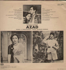 Azad 1960 Bollywood Vinyl LP