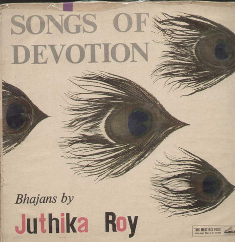 Bhajans By Juthika Roy Bollywood Vinyl LP- First Press