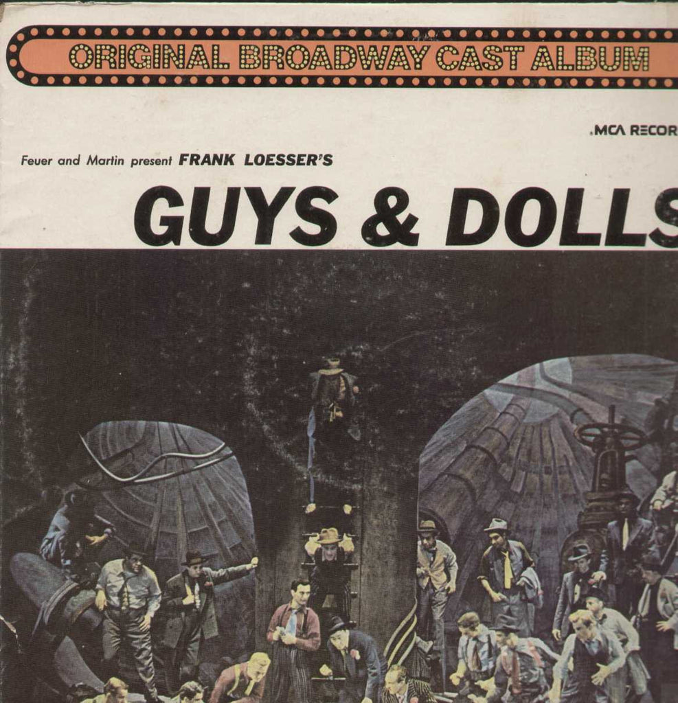 Guys And Dolls A Musical Fable Of Broadway English Vinyl LP