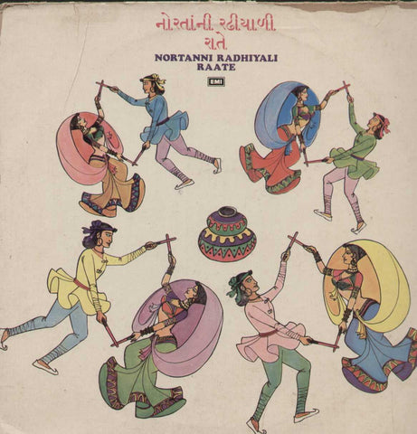 Nortanni Radhiyali Raate Bollywood Vinyl LP