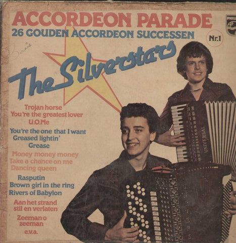 Accordeon Parade The SilverStars 26 Golden Accordeon Hits English Vinyl LP