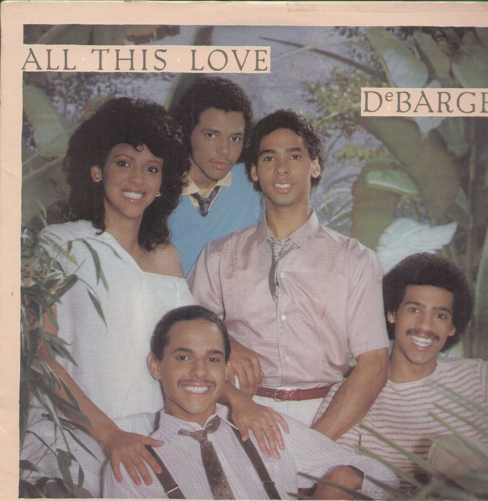All This Love Debarge English Vinyl LP