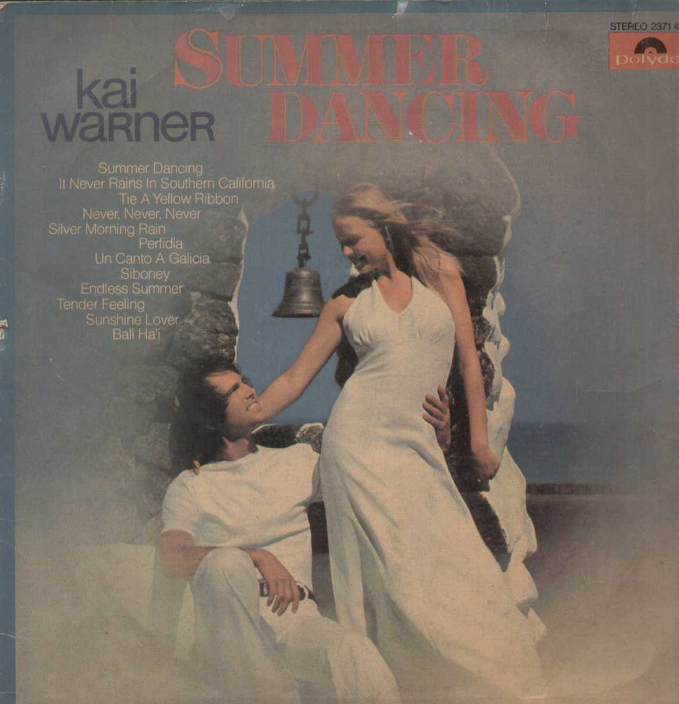 Summer Dancing Kai Warner English Vinyl LP