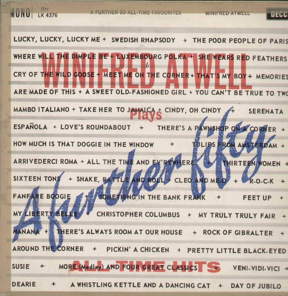 Winfred Atwell Plays A Further Fifty All-Time Favourites English Vinyl LP