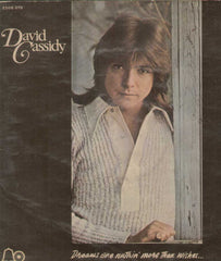 David Cassidy Dreams Are Nuthin More Then Wishes English Vinyl LP