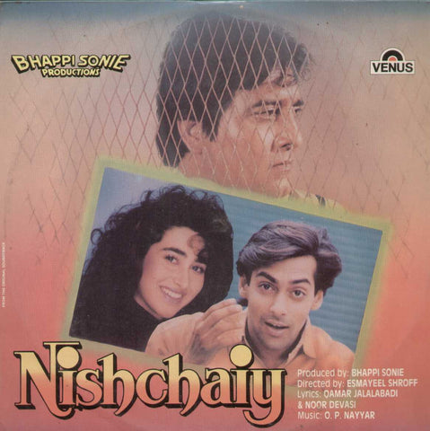 Nischaiy 1992 Bollywood Vinyl LP