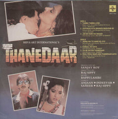 Thanedaar 1990 Bollywood Vinyl LP
