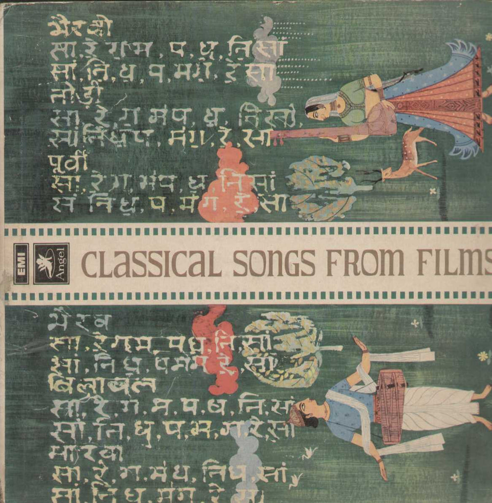 Classical Songs From Films Volume Four Bollywood Vinyl LP