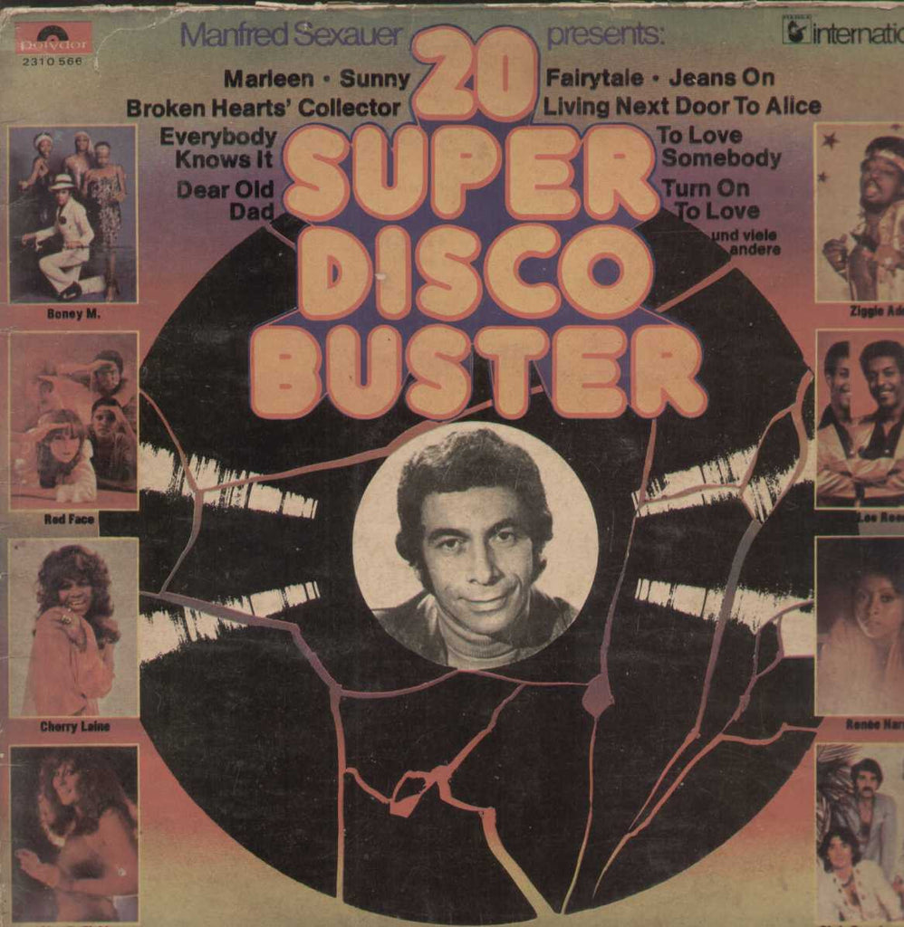 20 Super Disco Buster English Vinyl LP