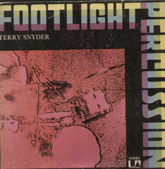 Footlight Percussion Terry Snyder English Vinyl LP