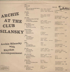Archie At The Club Silansky English Vinyl LP