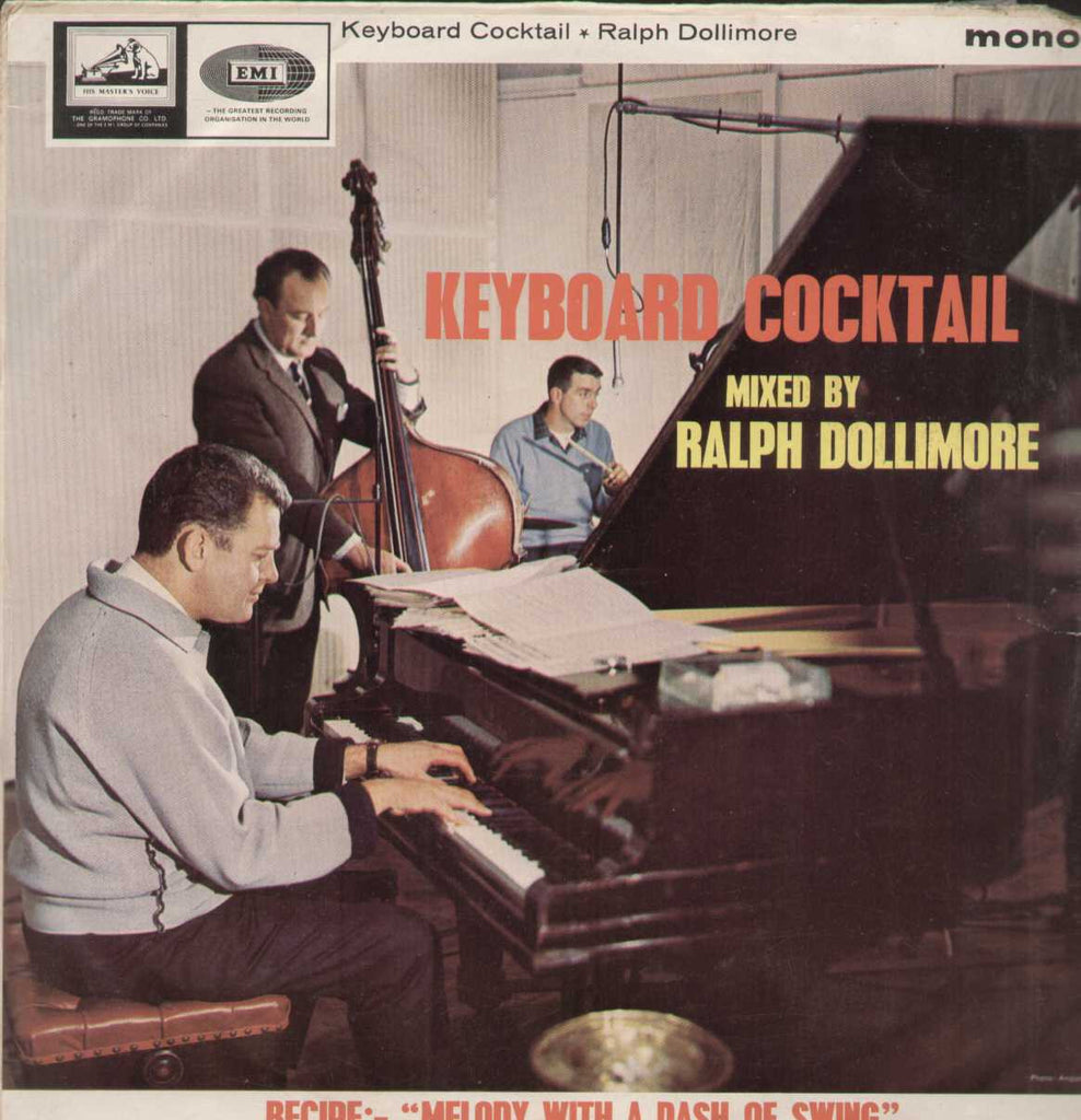 Keyboard Cocktail Mixed By Ralph Dollimore English Vinyl LP- First Press