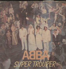 Abba Super Trouper English Vinyl LP