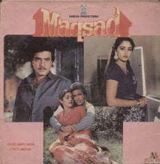 Maqsad 1980 Bollywood Vinyl LP