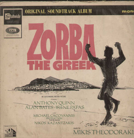 Zorba The Greek Bollywood Vinyl LP