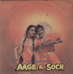Aage Ki Soch 1988 Bollywood Vinyl LP