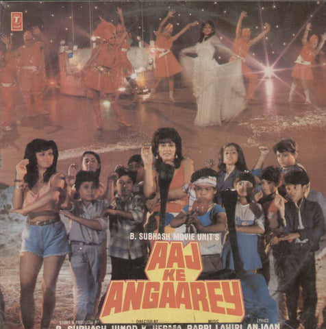 Aaj Ke Angaarey 1988 Bollywood Vinyl LP