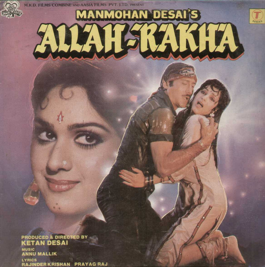 Allah- Rakha 1980 Bollywood Vinyl LP