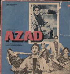 Azad 1970 Bollywood Vinyl LP